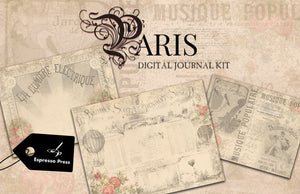Paris Digital Journal Kit