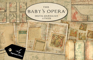 The Baby's Opera Digital Journal Kit