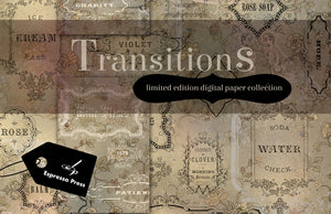 Transitions Digital Paper Collection