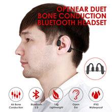Load image into Gallery viewer, ET AS3 Air Conduction Headphones Bluetooth Open Ear Earphone IPX5 Sweatproof  Stereo Headset