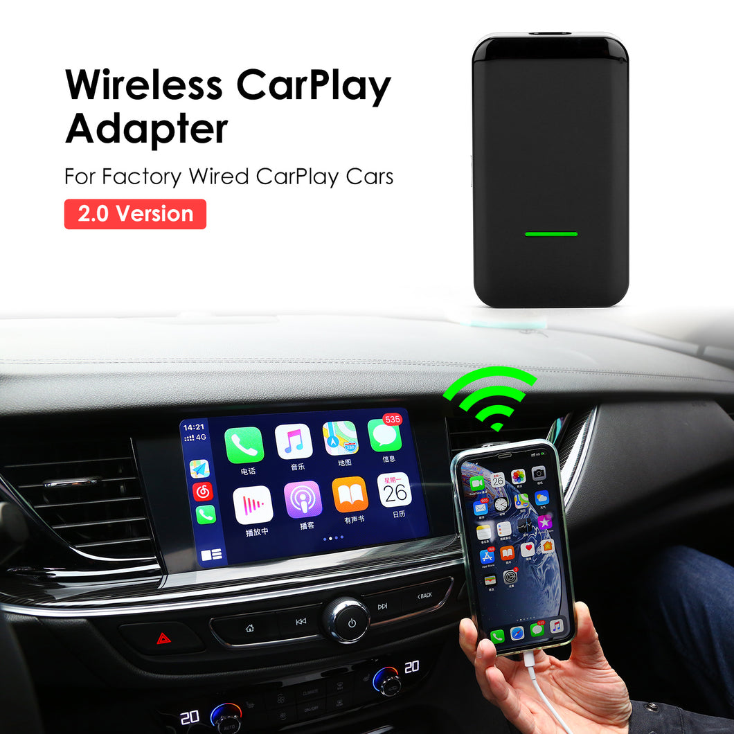 C4 Wireless Apple Carplay Auto Dongle for Original Factory Screen Support iPhone for Audi/Honda/Volvo/Volkswagen
