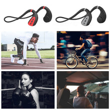Load image into Gallery viewer, BBGear 8G Wireless Bone Conduction Earphone MP3 Player Swimming Headphone with 8G Memory