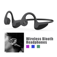 Load image into Gallery viewer, BBGear Z8 Bluetooth Bone Conduction Headphones Wireless Sports Earphones with Mic
