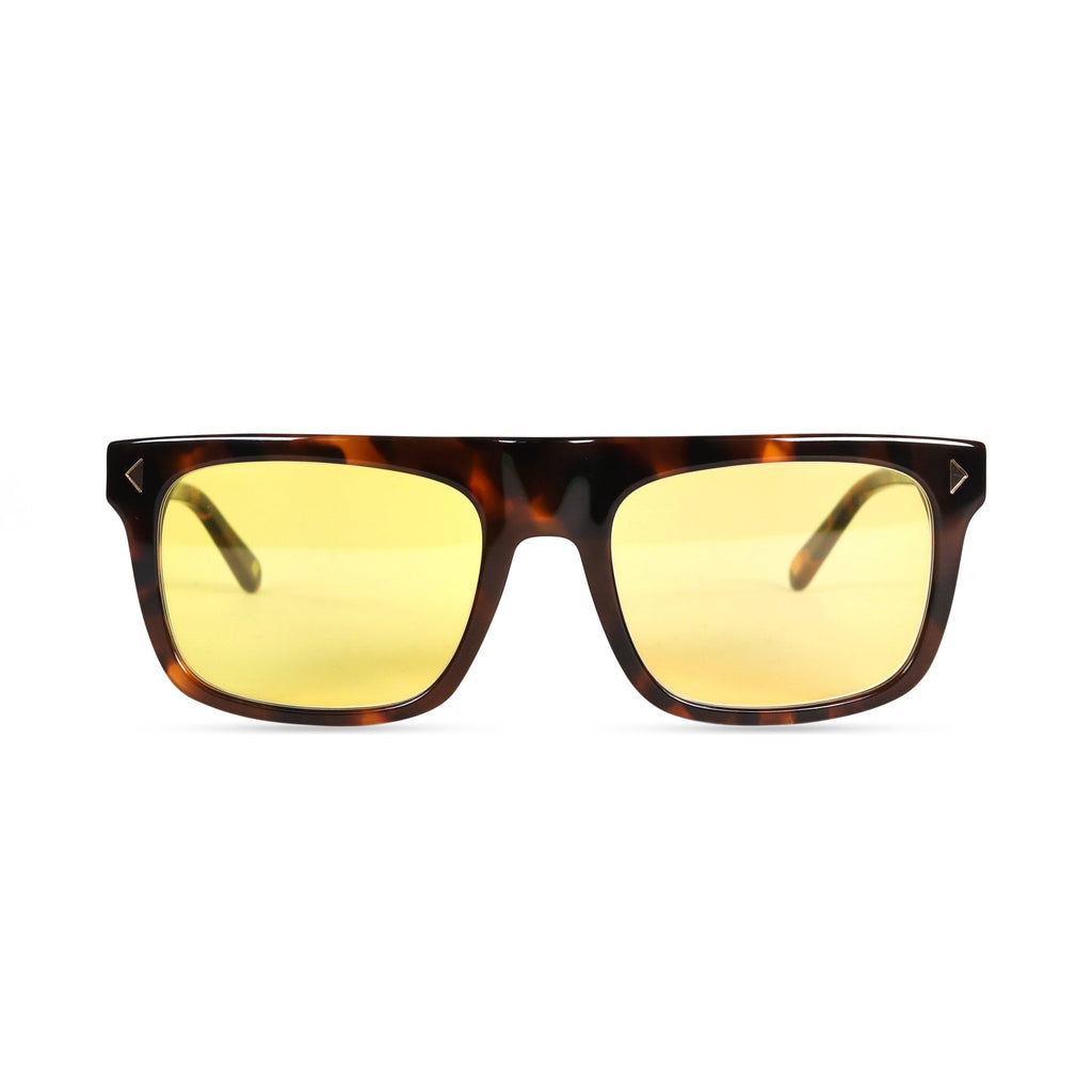 Bailey PRYZMEYEWEAR Dark Tortoise Yellow