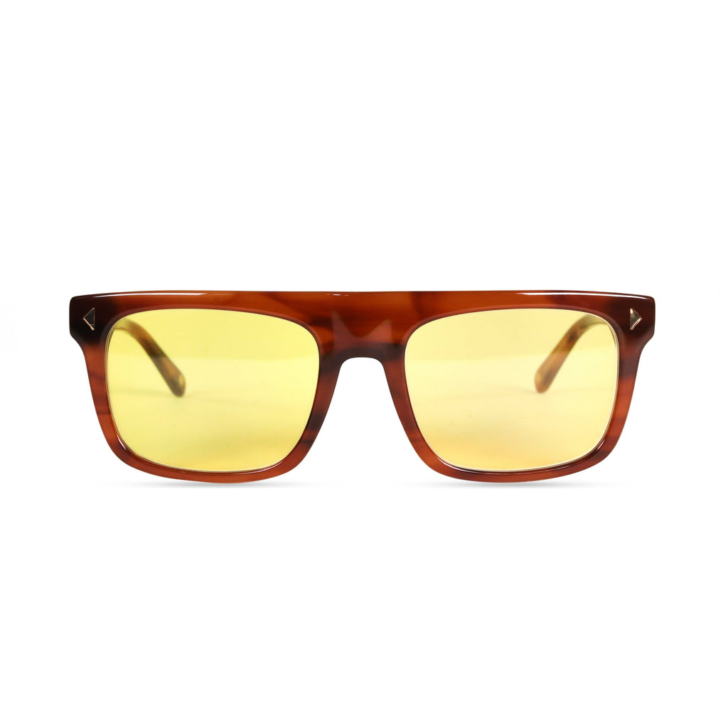 Bailey PRYZMEYEWEAR Light Brown Yellow