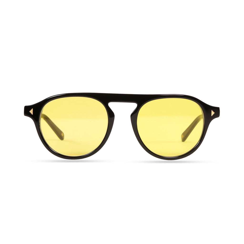 Idris PRYZMEYEWEAR Black Yellow