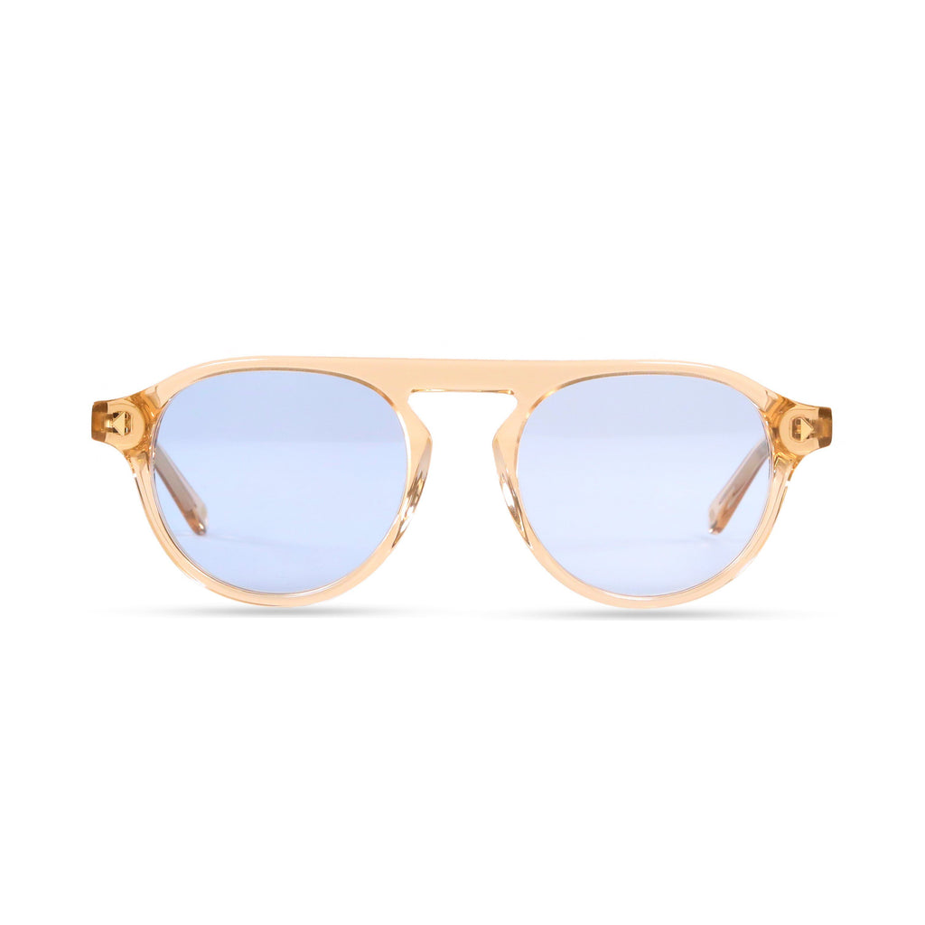 Idris PRYZMEYEWEAR Brown Crystal Blue