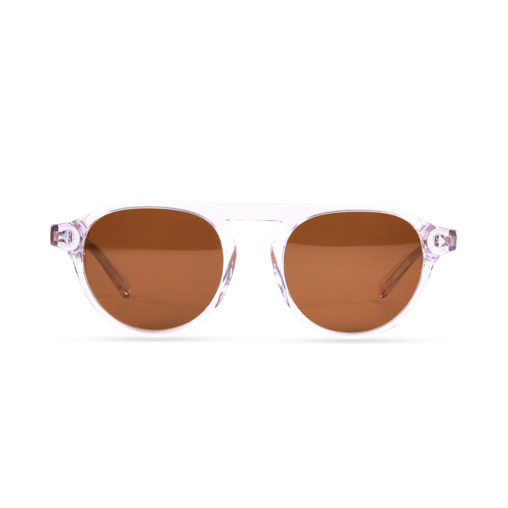 Idris PRYZMEYEWEAR Crystal Brown