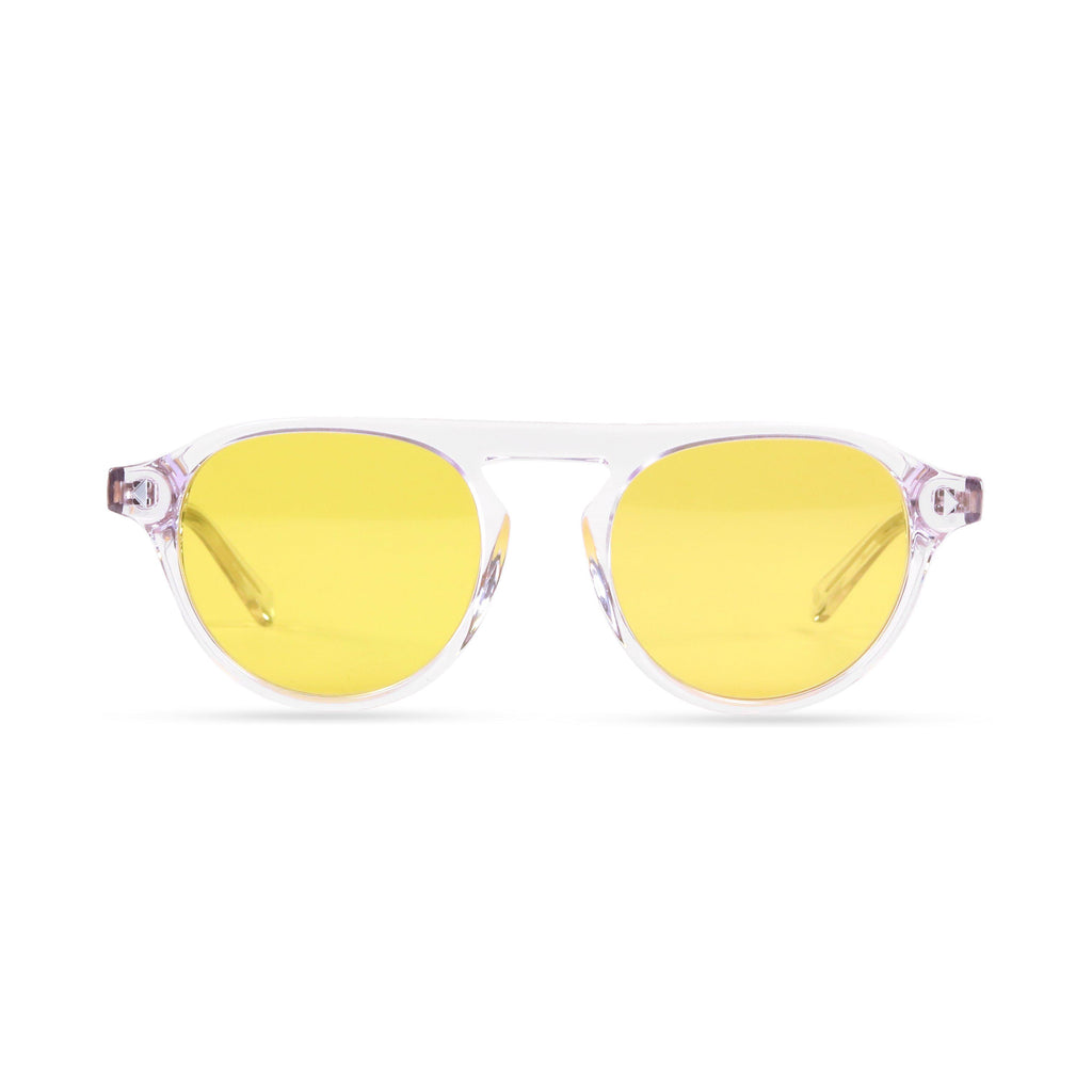 Idris PRYZMEYEWEAR Crystal Yellow
