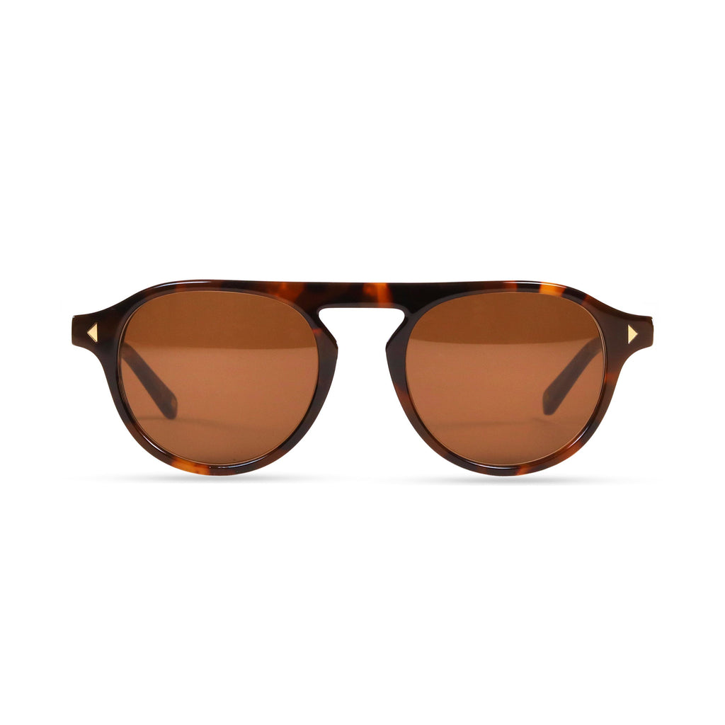 Idris PRYZMEYEWEAR Dark Tortoise Brown