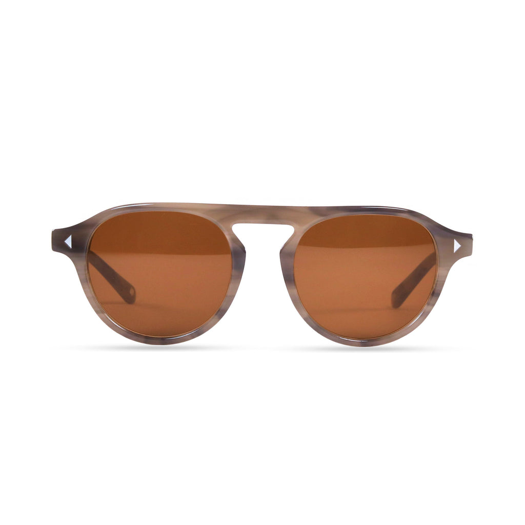 Idris PRYZMEYEWEAR Slate Grey Brown