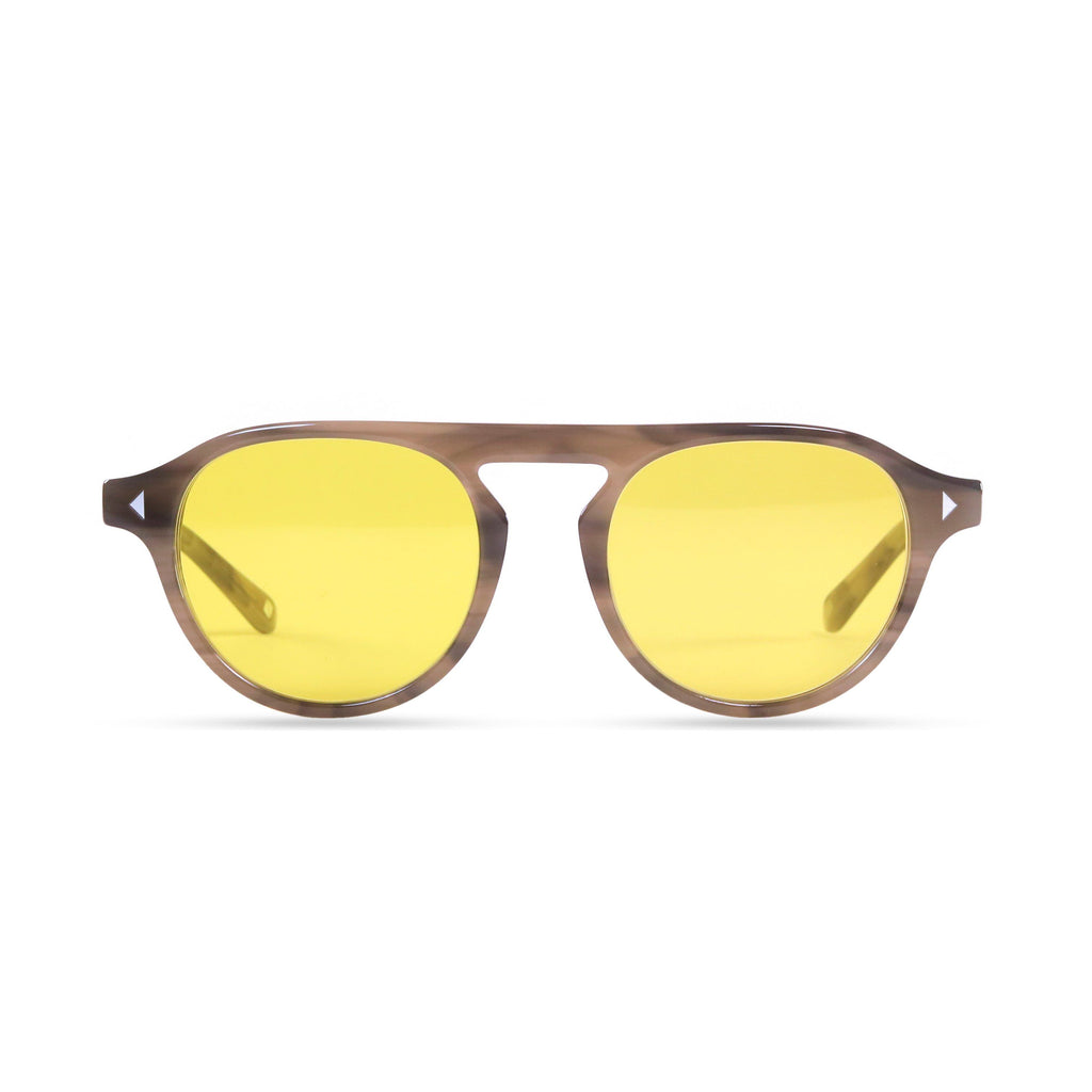 Idris PRYZMEYEWEAR Slate Grey Yellow