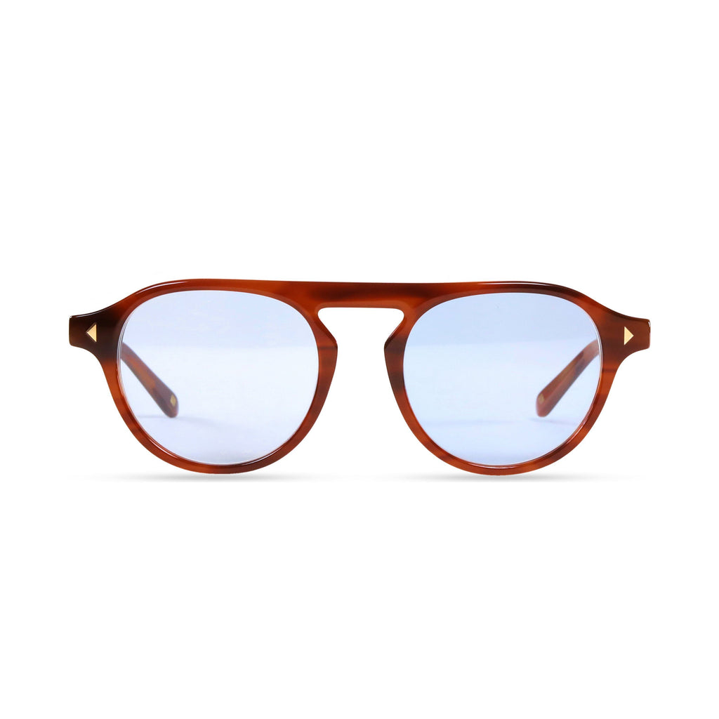 Idris PRYZMEYEWEAR Light Brown Blue