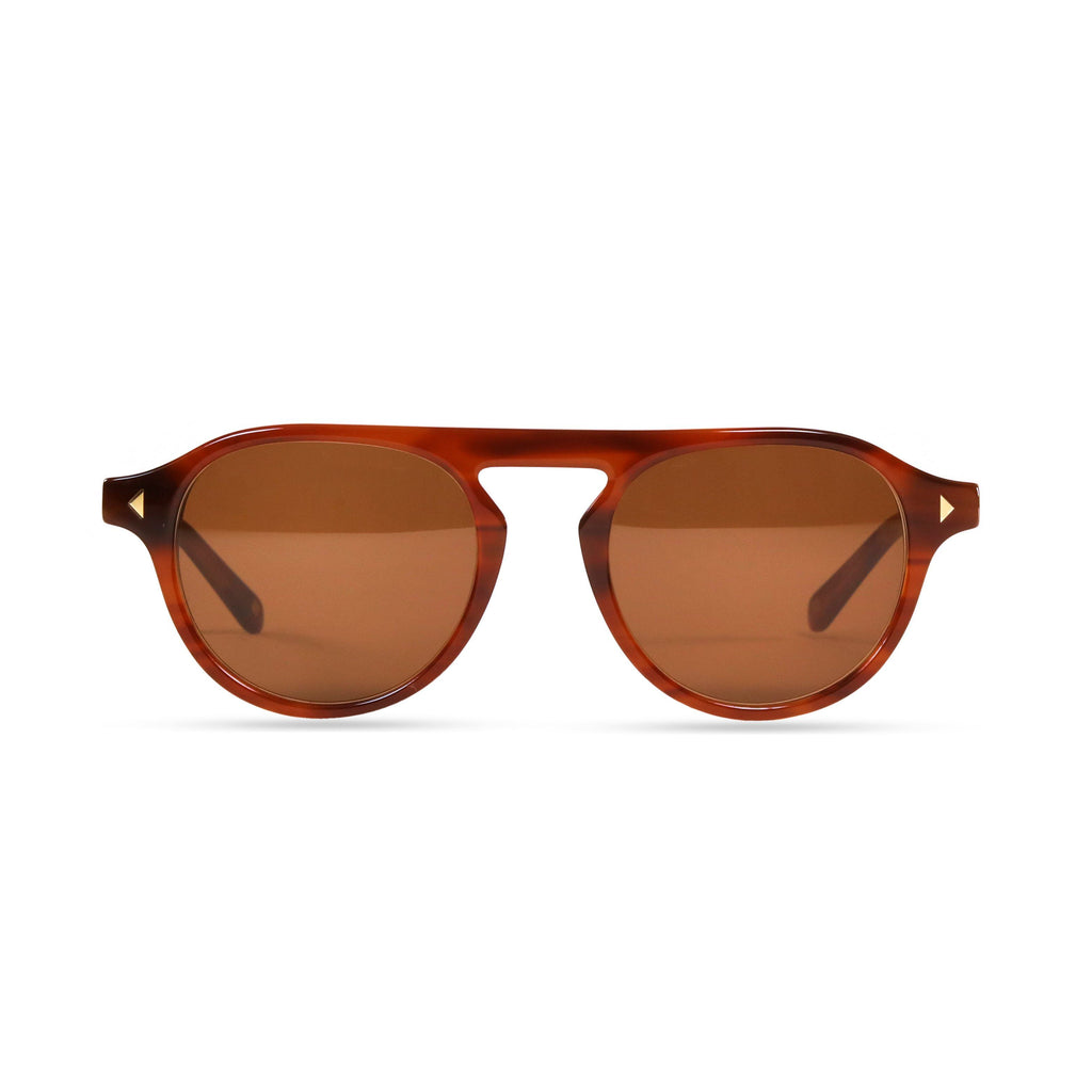 Idris PRYZMEYEWEAR Light Brown Brown