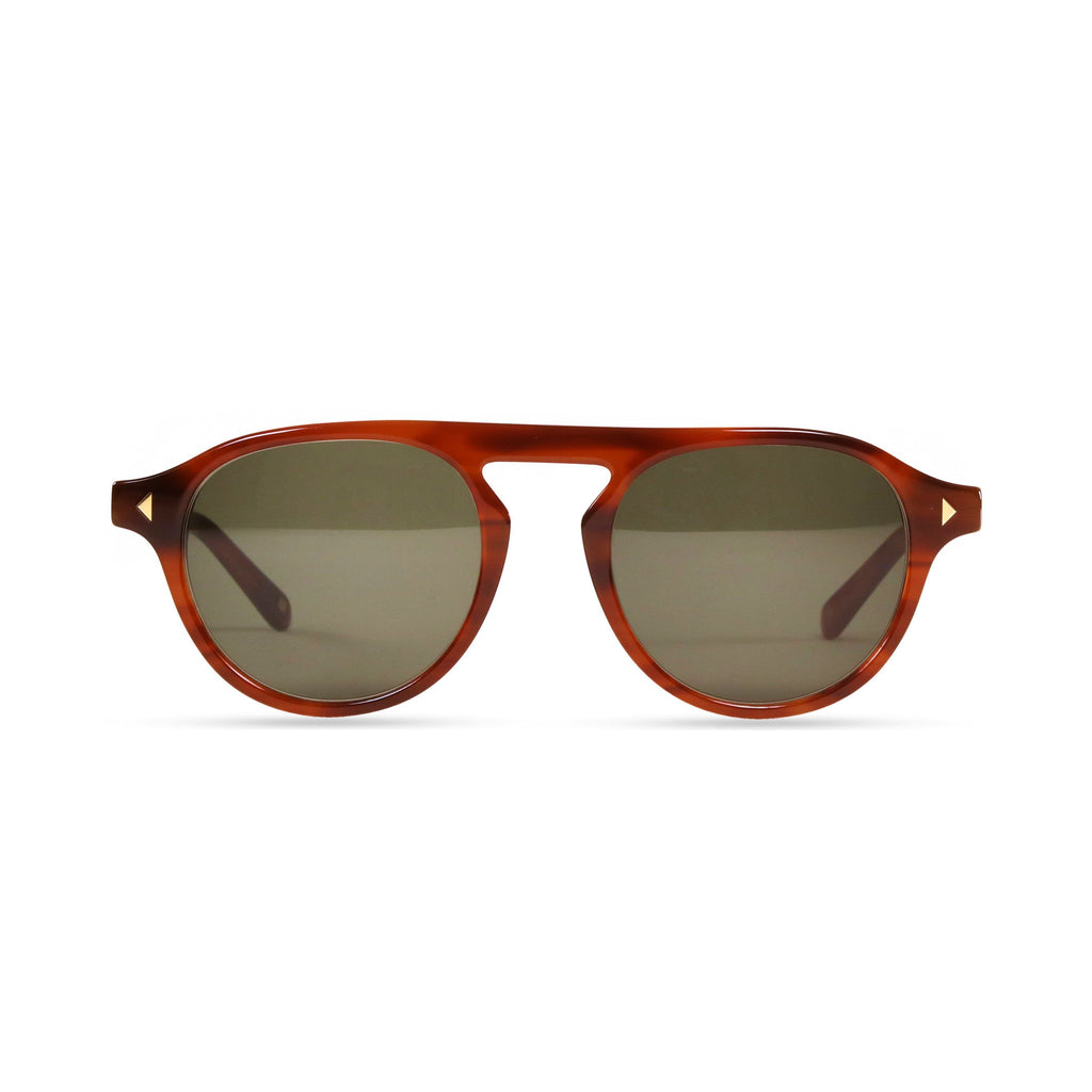 Idris PRYZMEYEWEAR Light Brown Green
