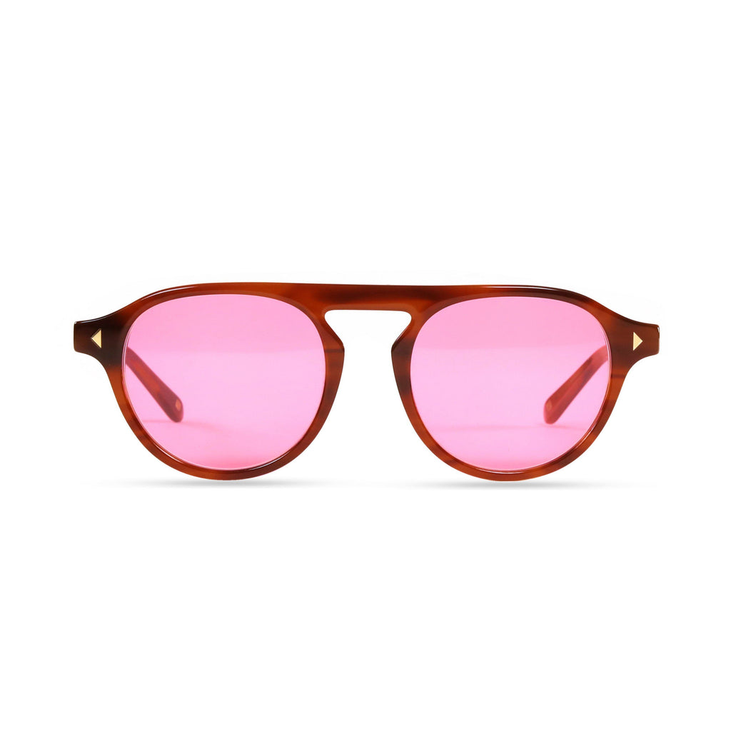 Idris PRYZMEYEWEAR Light Brown Pink