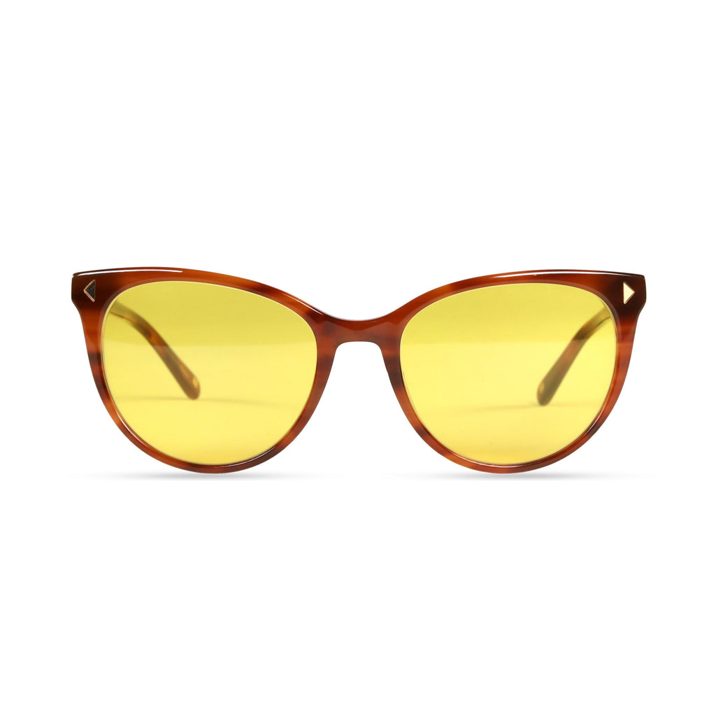 Laila PRYZMEYEWEAR Light Brown Yellow