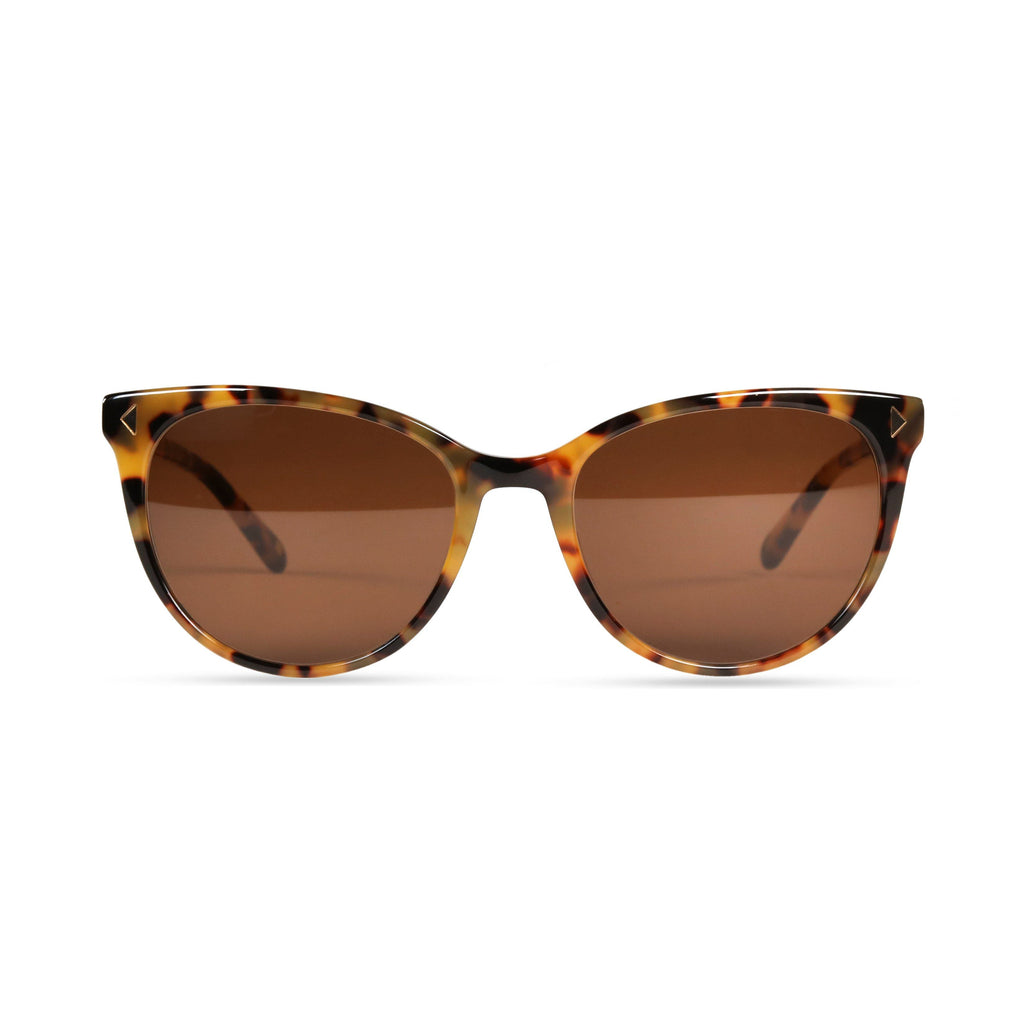 Laila PRYZMEYEWEAR Yellow Demi Brown