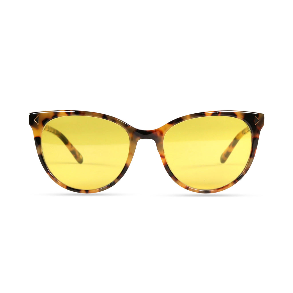 Laila PRYZMEYEWEAR Yellow Demi Yellow