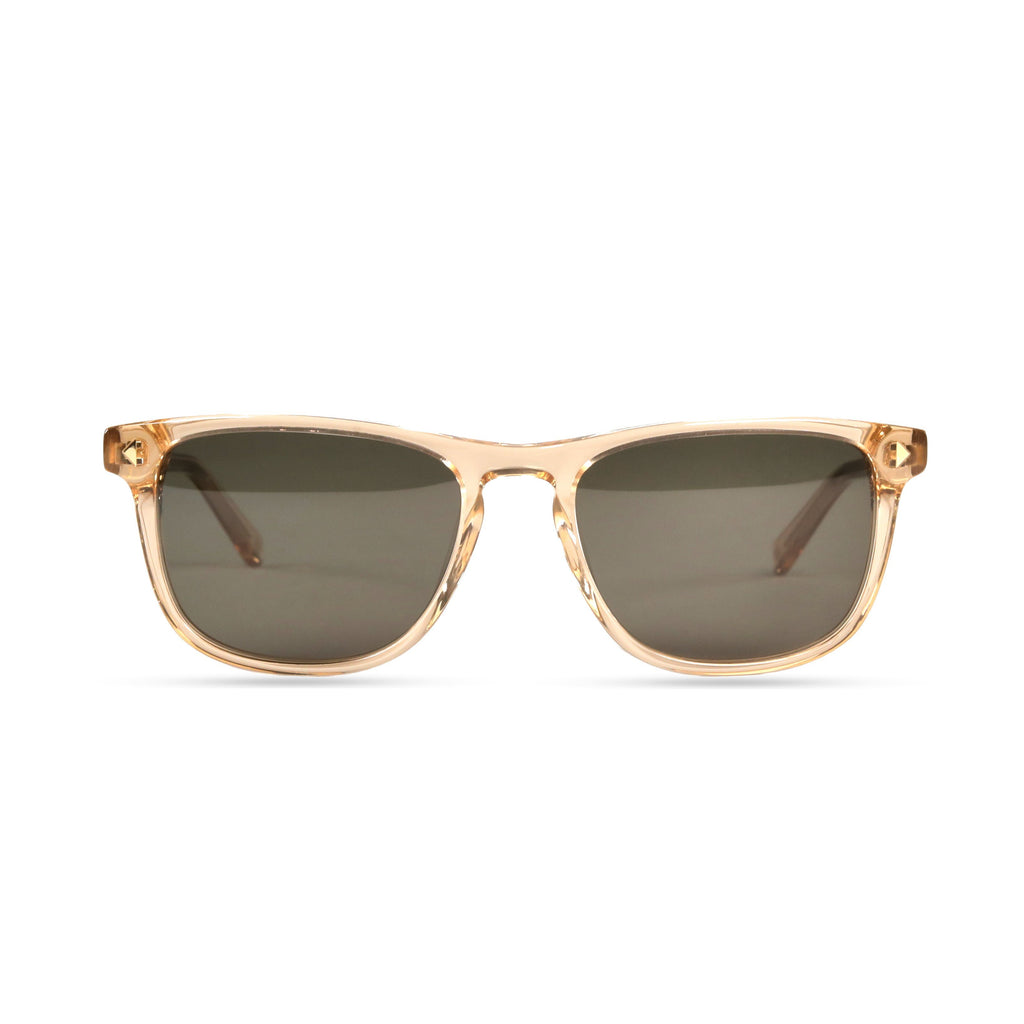 Milo PRYZMEYEWEAR Brown Crystal Green