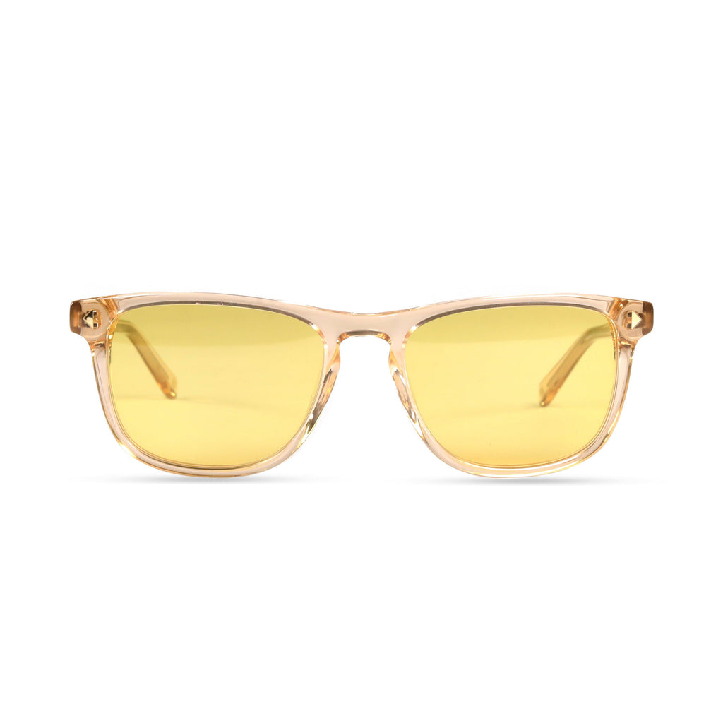 Milo PRYZMEYEWEAR Brown Crystal Yellow