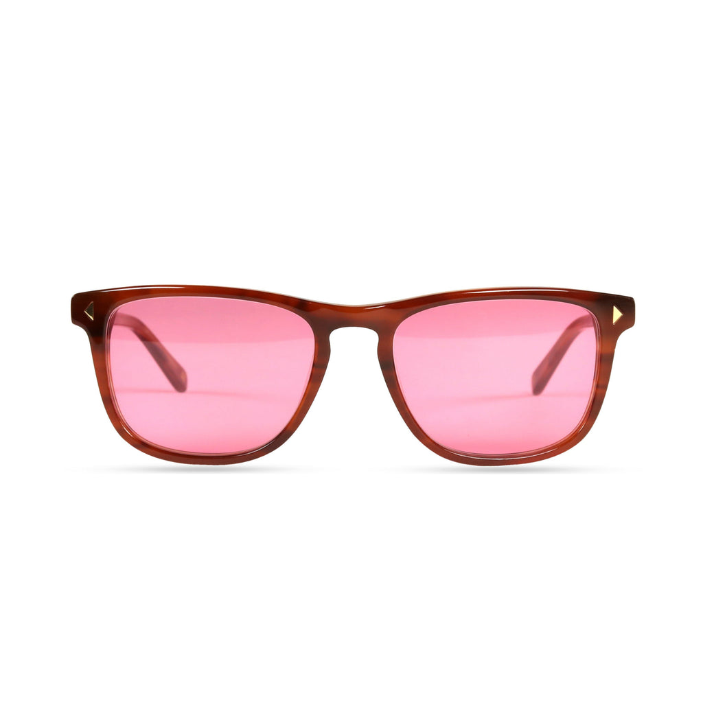 Milo PRYZMEYEWEAR Light Brown Pink