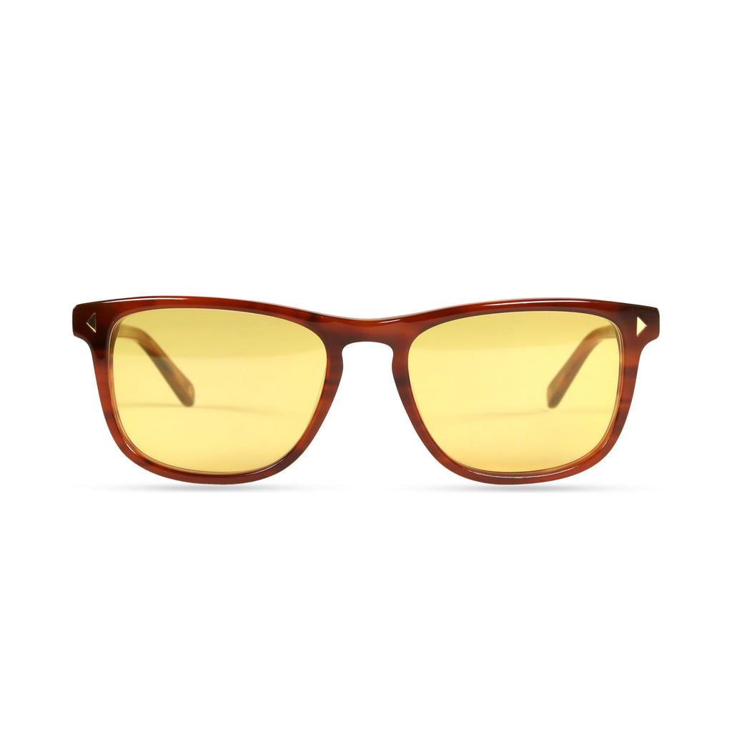 Milo PRYZMEYEWEAR Light Brown Yellow