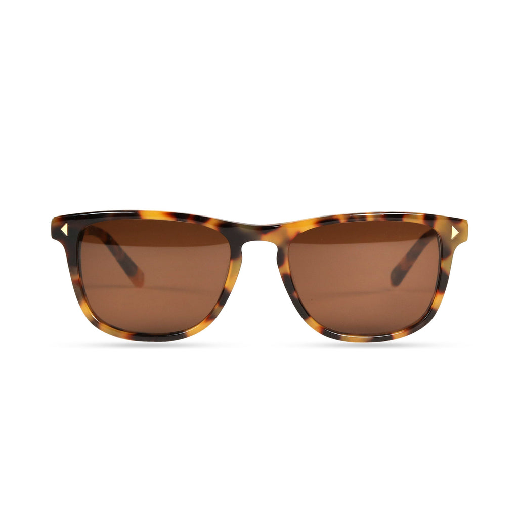 Milo PRYZMEYEWEAR Yellow Demi Brown