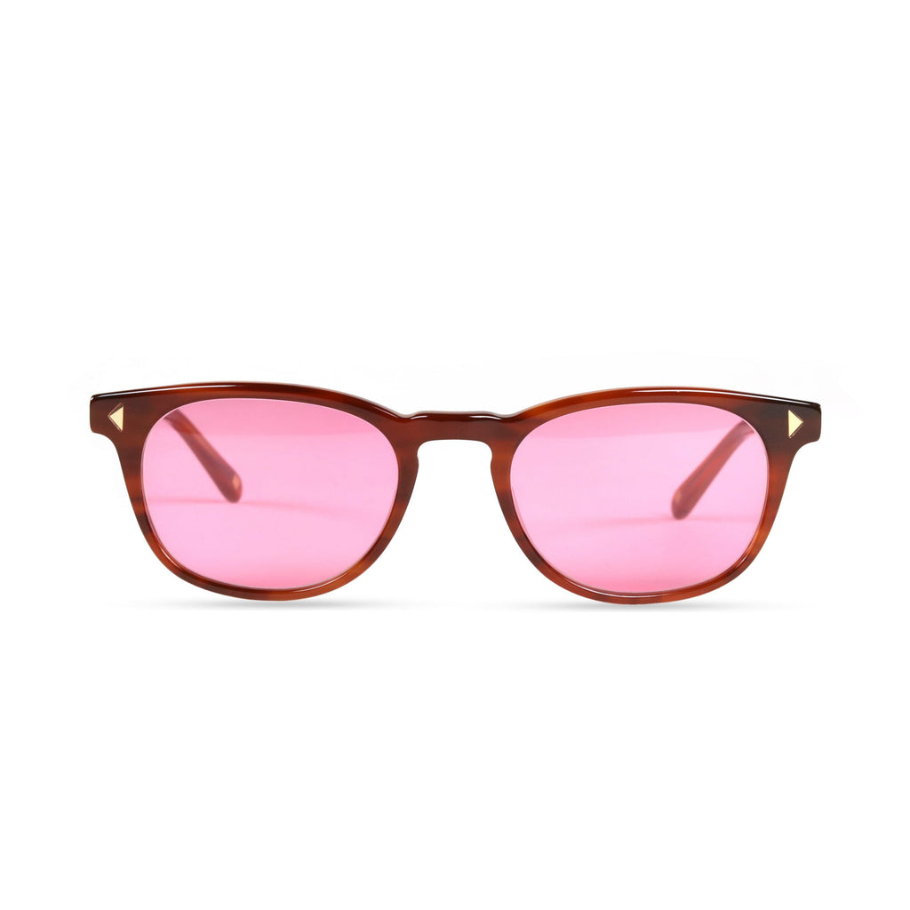 Quinton PRYZMEYEWEAR Light Brown Pink