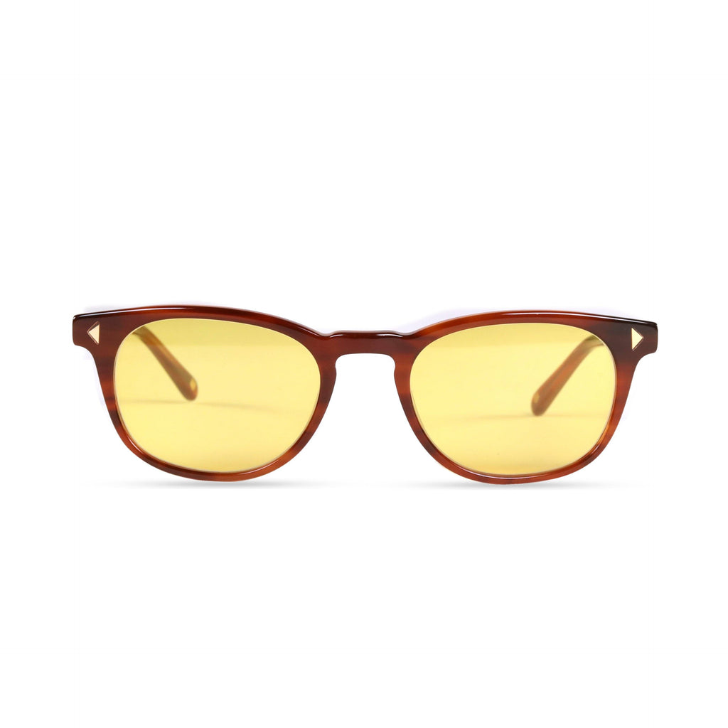 Quinton PRYZMEYEWEAR Light Brown Yellow