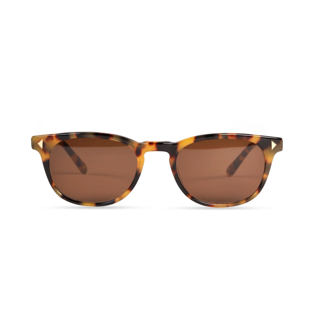 Quinton PRYZMEYEWEAR Yellow Demi Brown