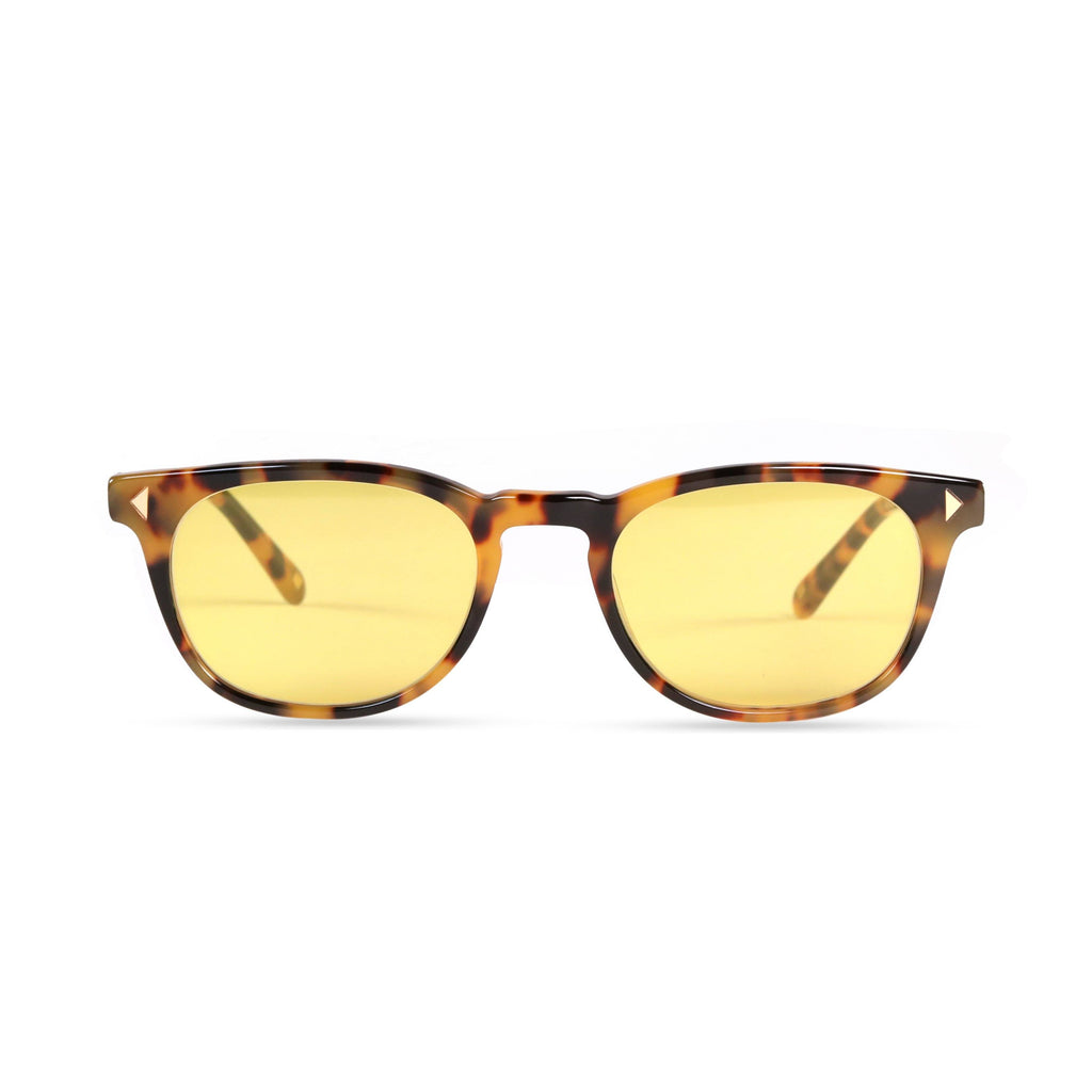 Quinton PRYZMEYEWEAR Yellow Demi Yellow