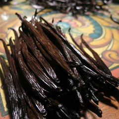 image of vanilla beans getting sorted