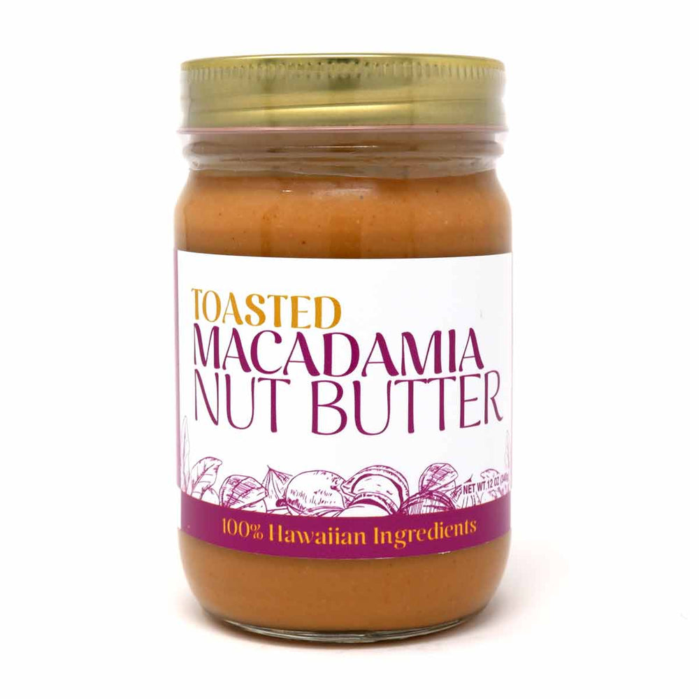 Toasted Macadamia Nut Butter 12oz.