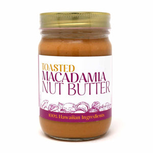 Load image into Gallery viewer, Toasted Macadamia Nut Butter 12oz.
