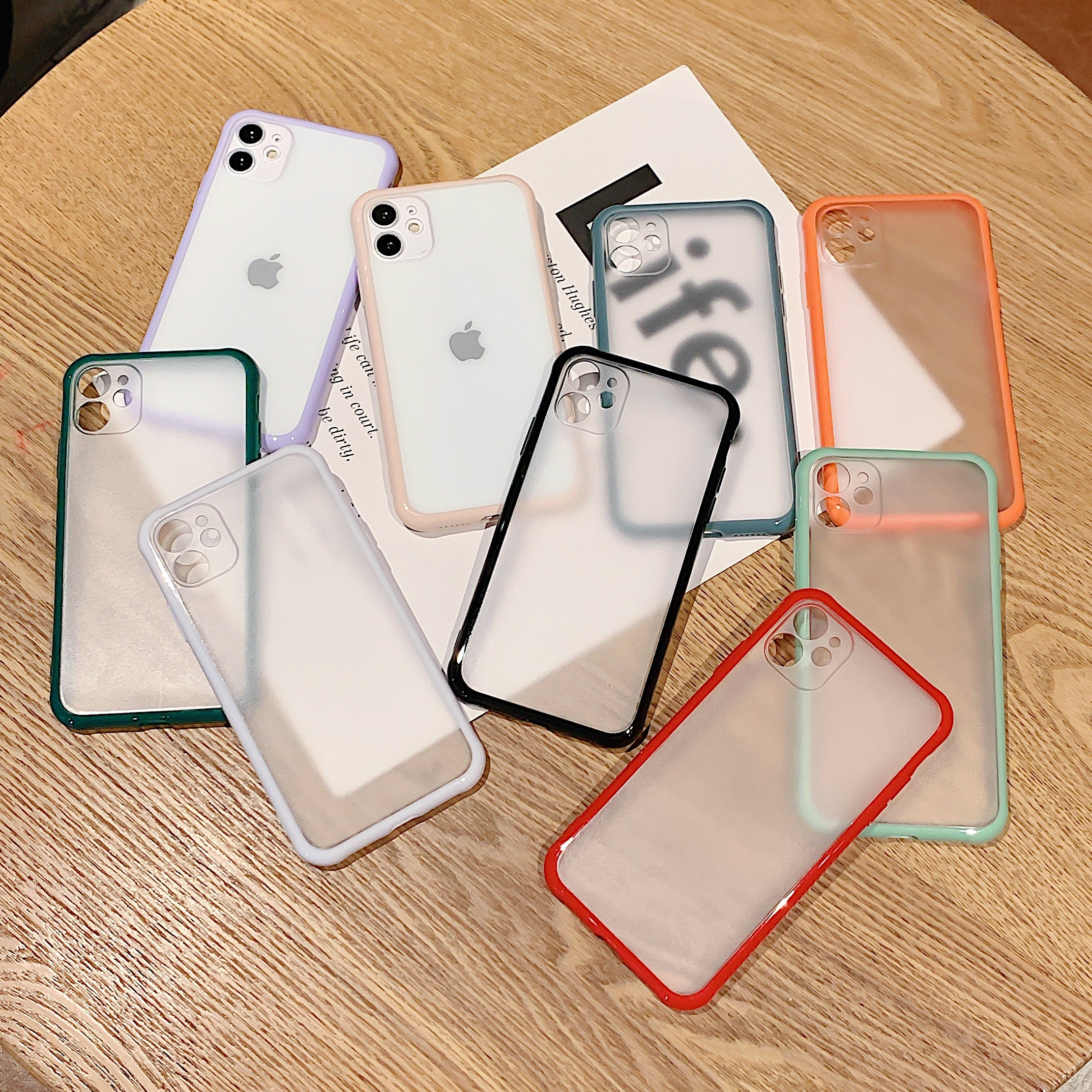 Shockproof Armor Transparent iPhone Case