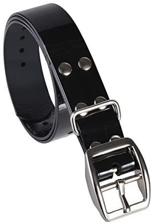 Vertical Black Collar Strap