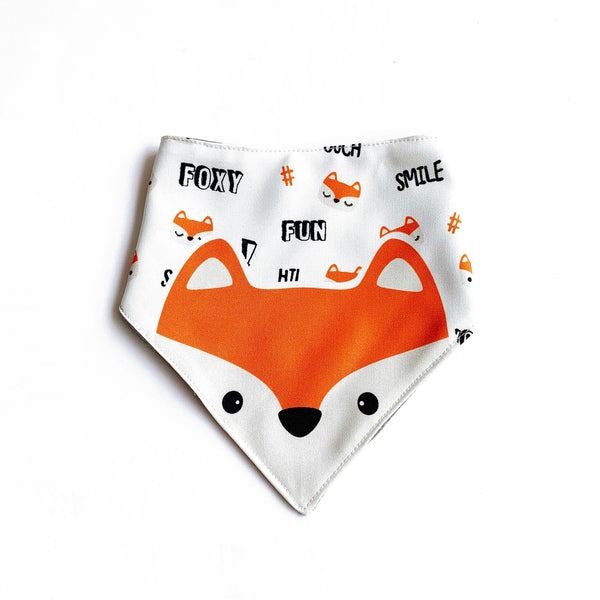 Foxie the Fox Bib