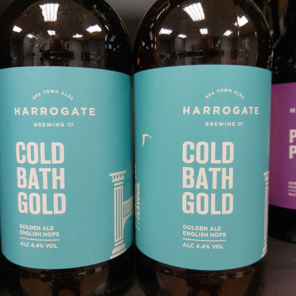Harrogate Brewing Co. Cold Bath Gold 500ml 4.4%