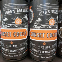 Lord's Brewing Sunset Cocoa Chocolate Orange Porter 440ml 4.3%