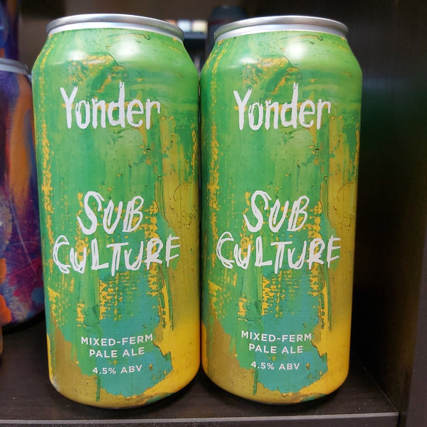 Yonder Brewing Sub-Culture 440ml 4.5%