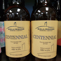 Mallinsons Centennial Pale Blonde and Bitter 500ml 4%