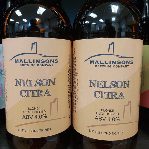 Mallinsons Nelson Citra Dual Hopped Blonde 500ml 4%