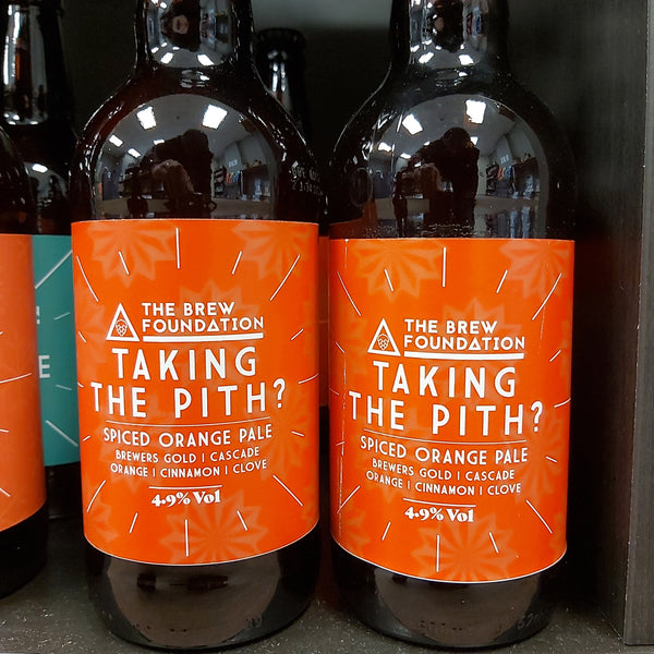 The Brew Foundation Taking The Pith Spiced Orange Pale 500ml 4.9%
