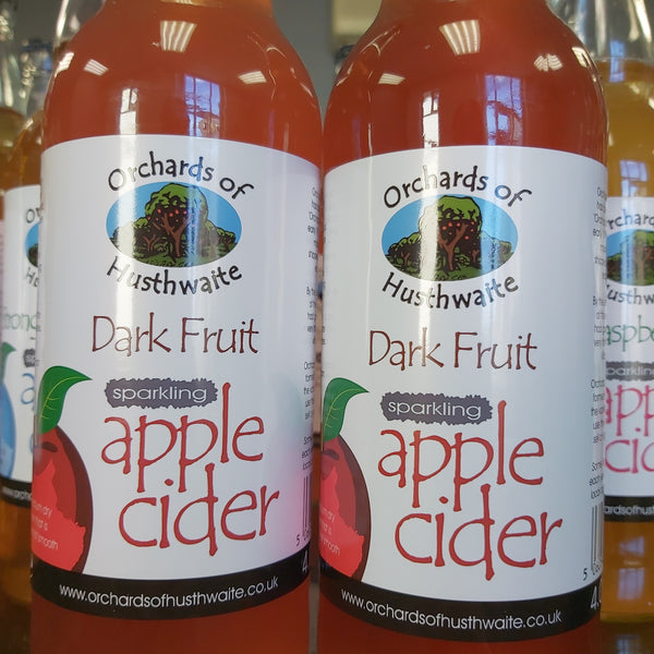 Orchards Of Husthwaite Sparkling Dark Fruit Apple Cider 500ml 4%