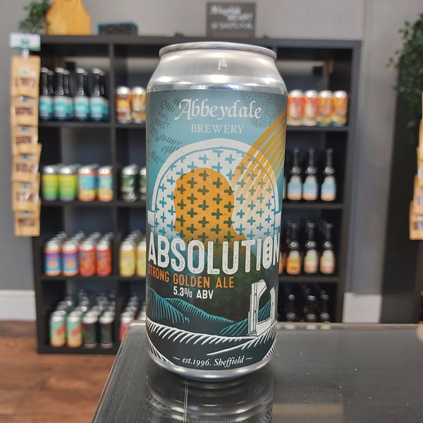 Abbeydale AbsolutionStrong Golden Ale Penistone Beer Shop