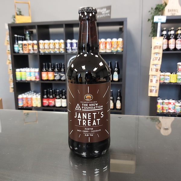 Janet's Treat Porter 500ml 4.8%
