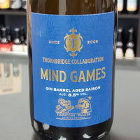 Thornbridge Mind Games Barrel Aged Saison 375ml 8.5%