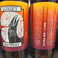 Loxley Gunson Citra IPA 500ml 4.8%