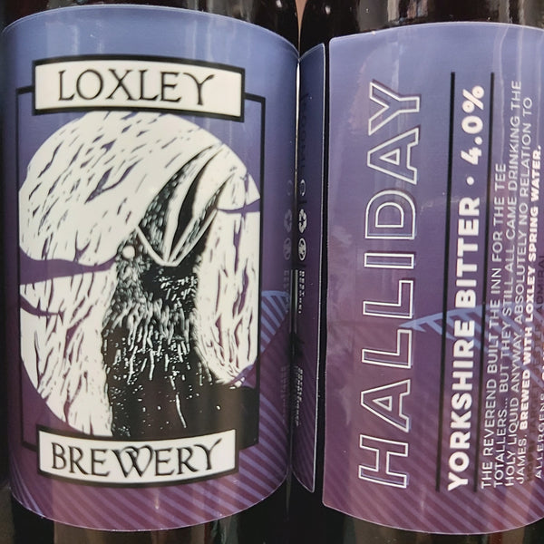 Loxley Halliday Yorkshire Bitter 500ml 4%